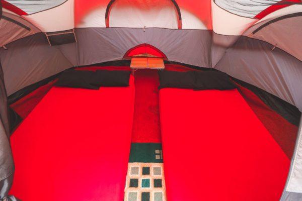 Interior Glamping Gunung Pancar