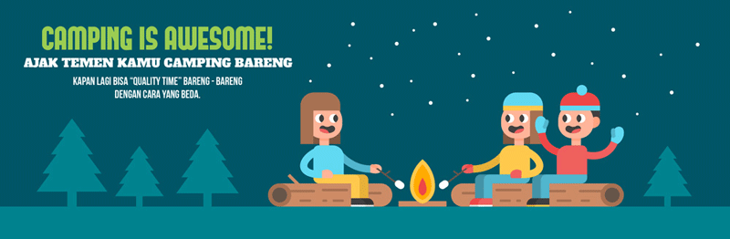 Banner-Camping