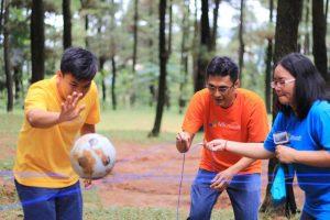 Team Building Outbound Sentul Gunung Pancar Bogor Jawa Barat